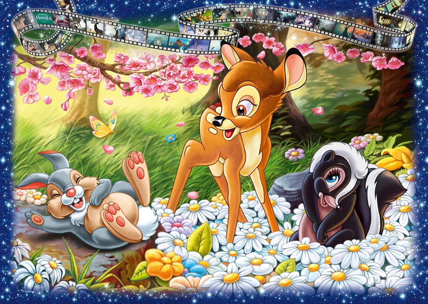 Casse-tête 1000 pièces - Bambi