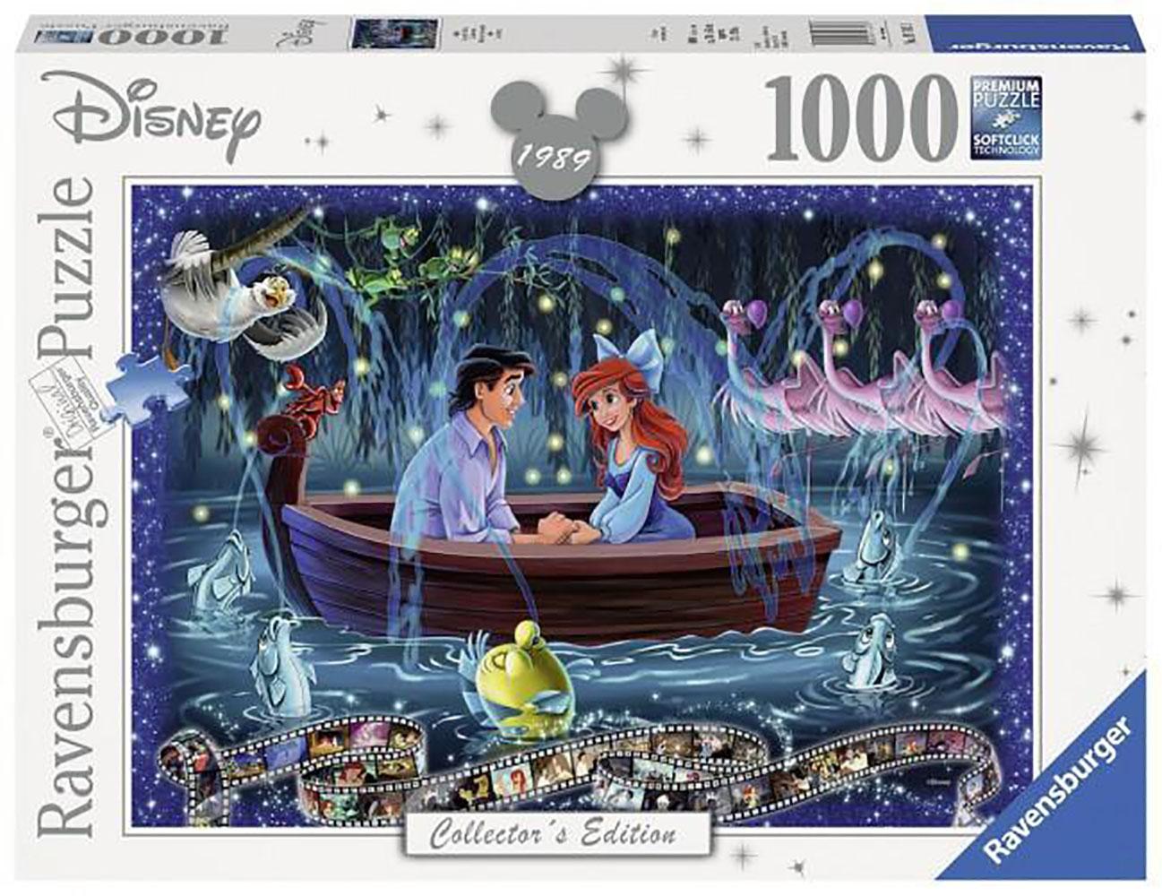 Casse-tête 1000 pièces - La Petite Sirène