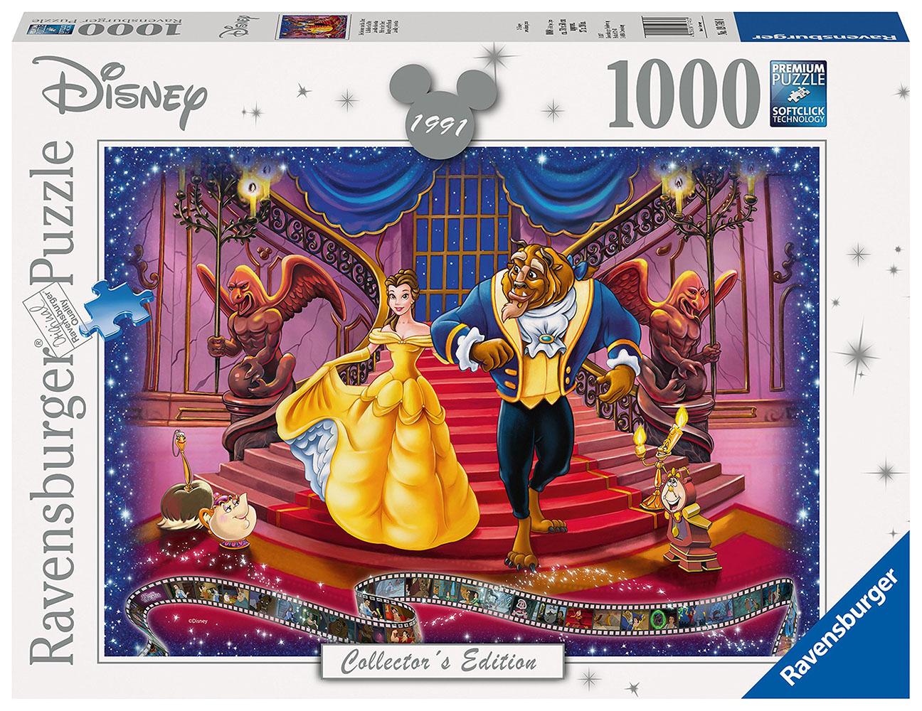 Casse-tête 1000 pièces - La Belle et la Bête