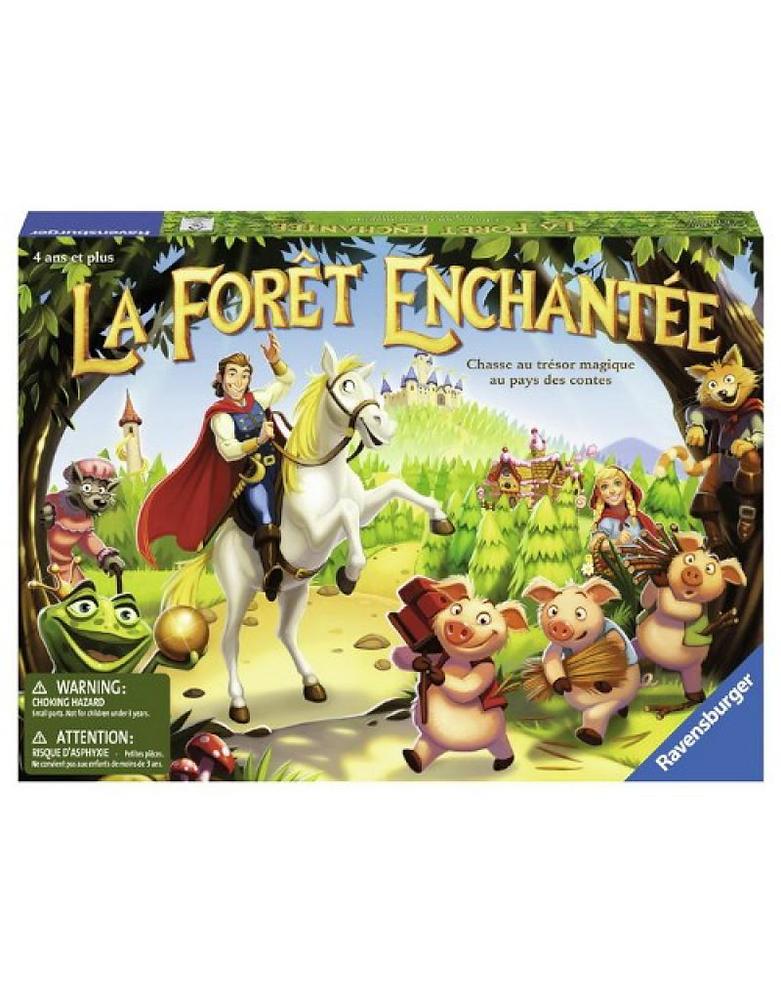 Jeu La forêt enchantée
