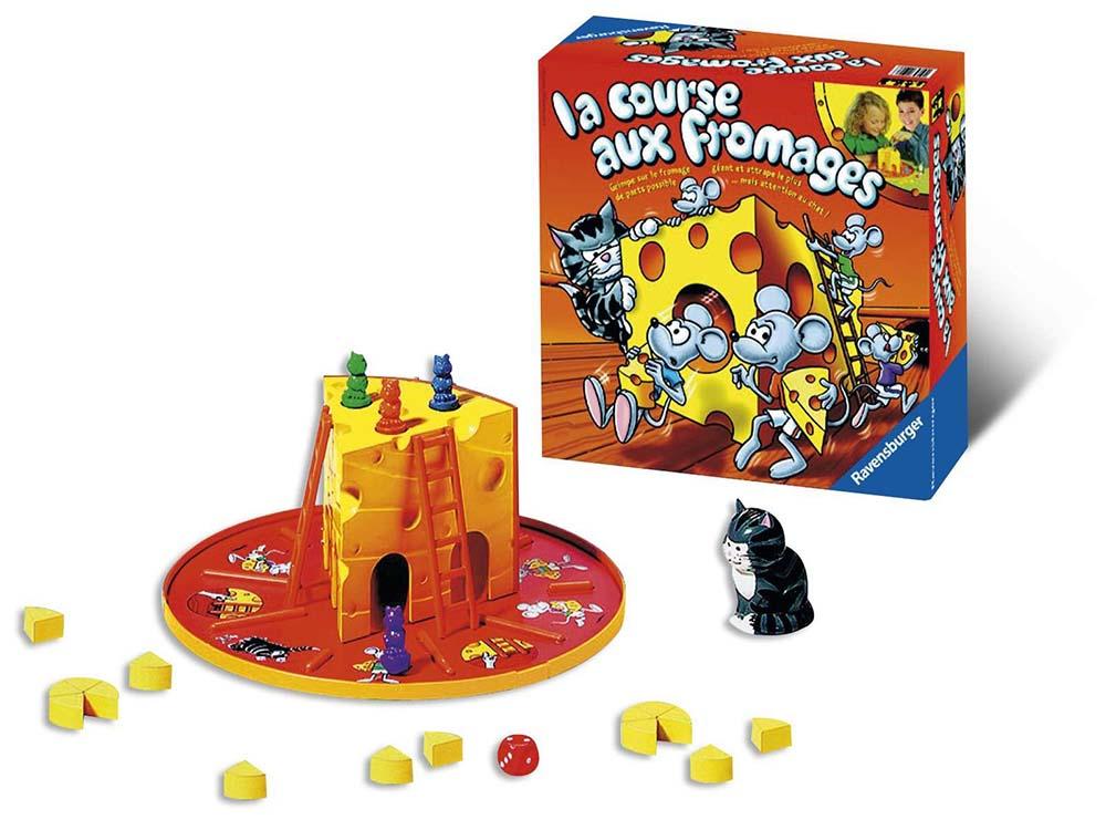 Jeu La course aux fromages