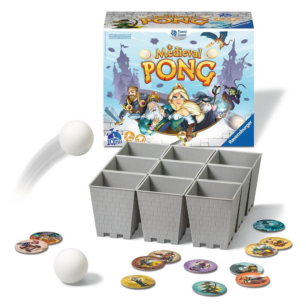 Jeu Médieval Pong