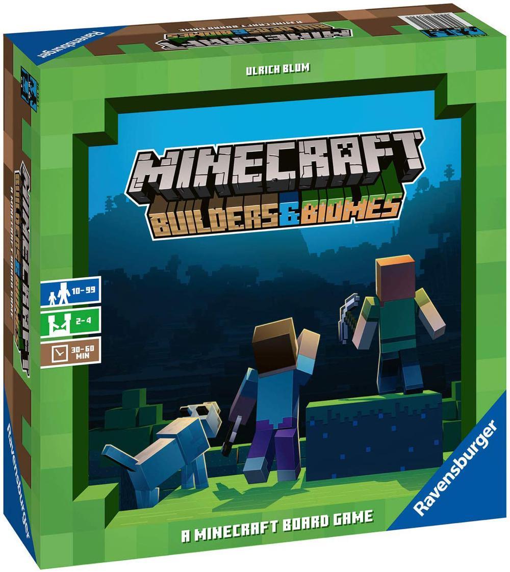 Jeu Minecraft : Builders & Biomes