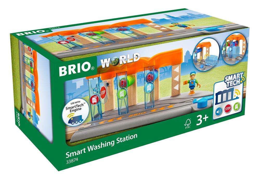 Brio - Station de lavage pour locomotives intelligentes