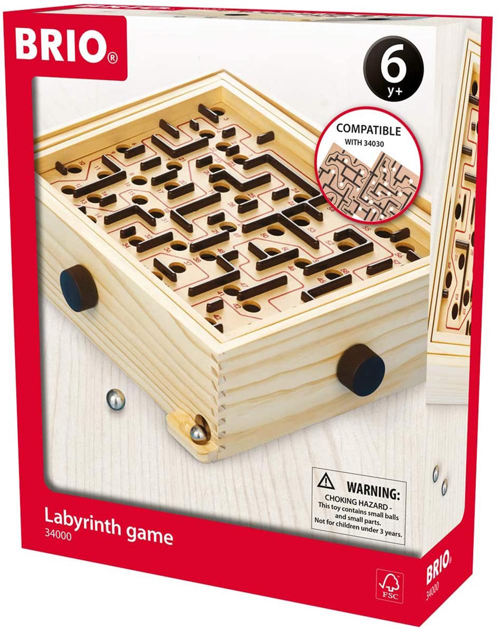 Brio - Labyrinthe de bois