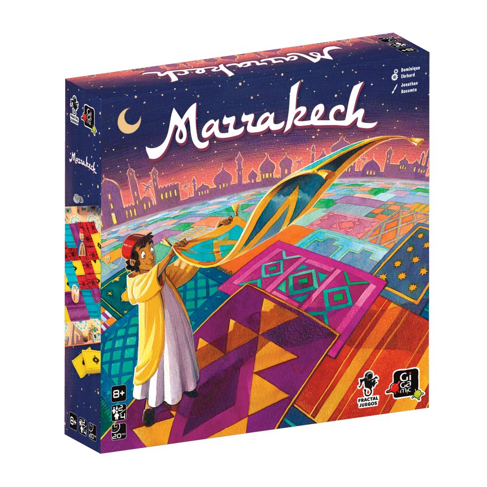 Jeu Marrakech