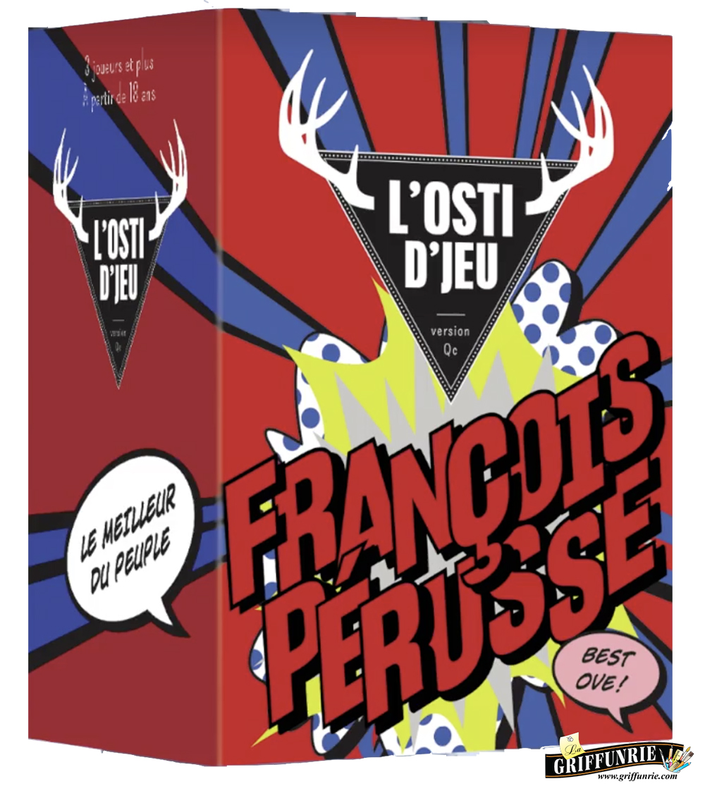 Jeu L'Osti d'jeu extension - François Perusse