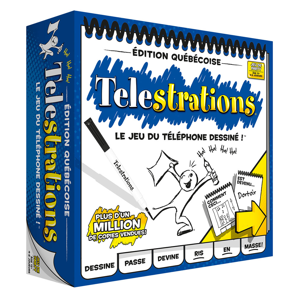 Jeu Telestrations - Édition QC