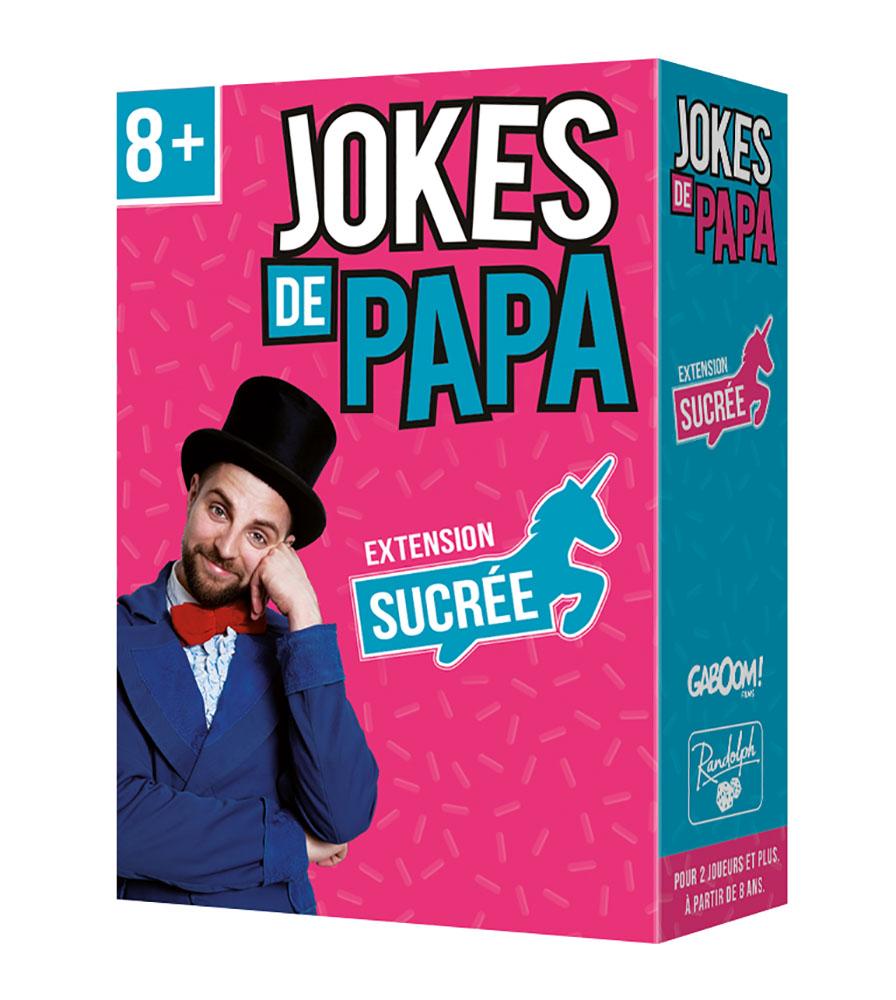 Jeu Jokes de papa Extension Sucrée