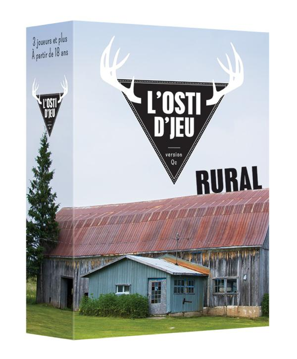 Jeu L'Osti d'jeu extension rural