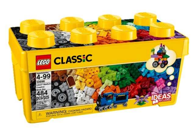 Classic - Seau de 484 briques