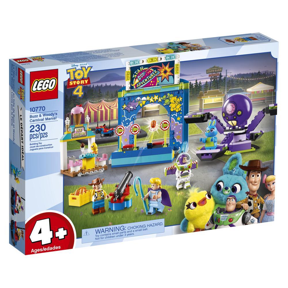Histoire de jouets 4 - Fête foraine en folie Buzz&Woody