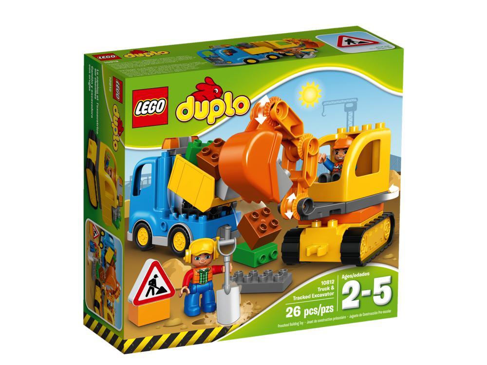 Duplo - Le Camion et la Pelleteuse