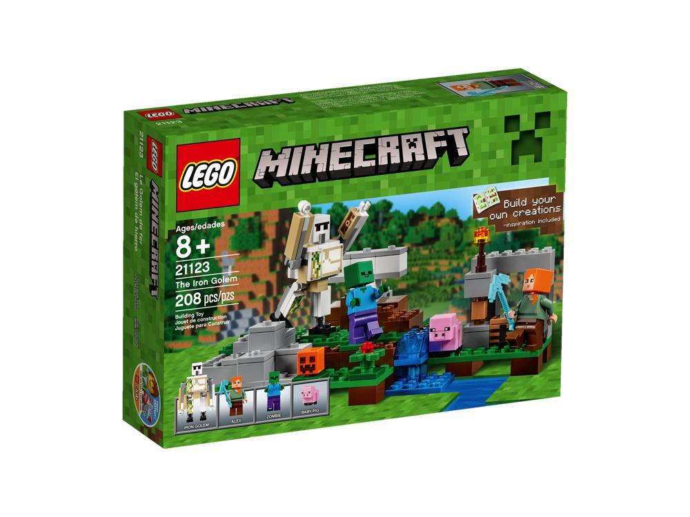 Minecraft le golem de fer 208pces construction - Minecraft golem de fer ...