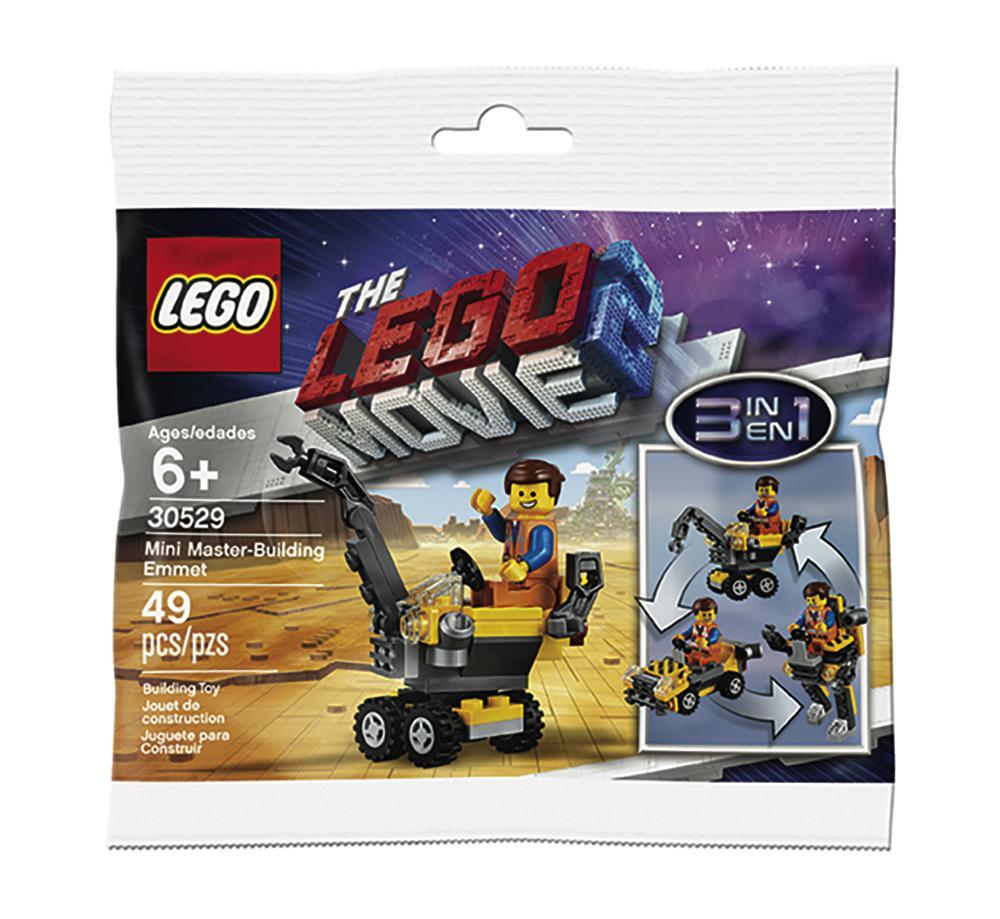 Lego Movie Sac promo Mini Maître Constructeur Emmet