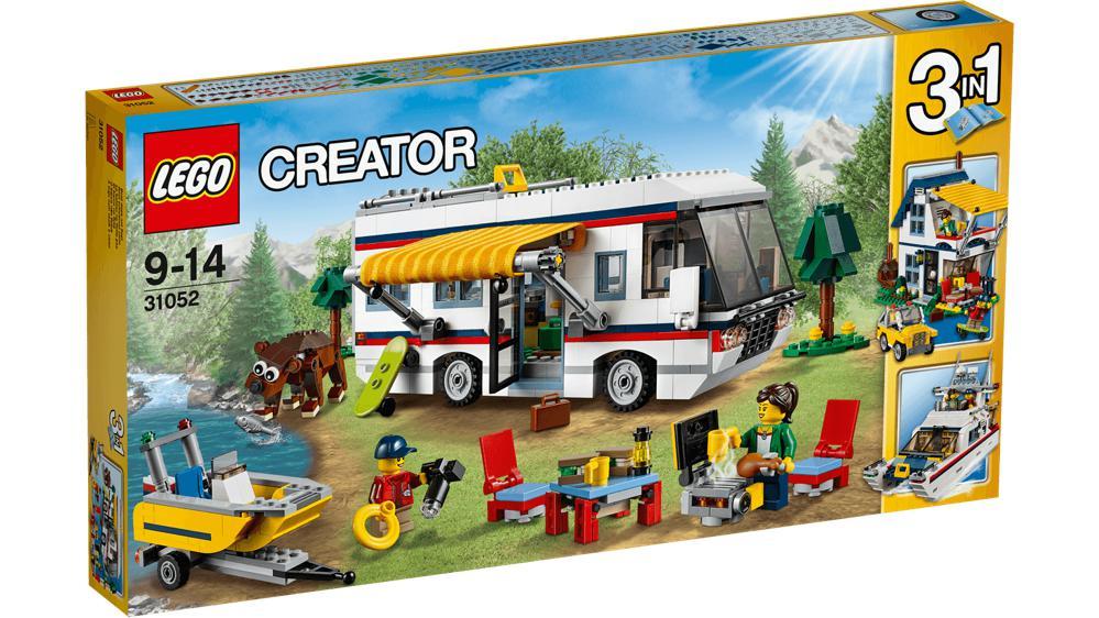 creator le camping car 792 pi ces club jouet achat de. Black Bedroom Furniture Sets. Home Design Ideas