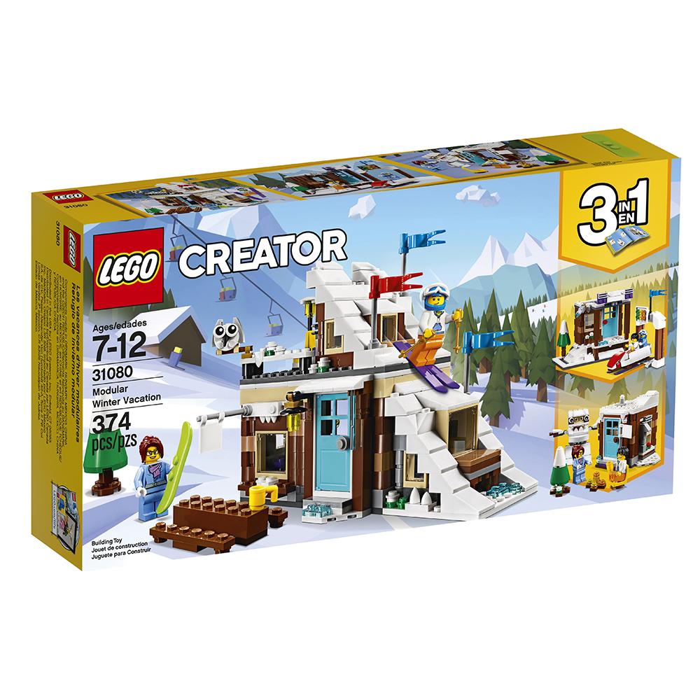 De Jeux Modulaires Et Jouetachat Vacances Creator Club D'hiver Aj3R54Lq