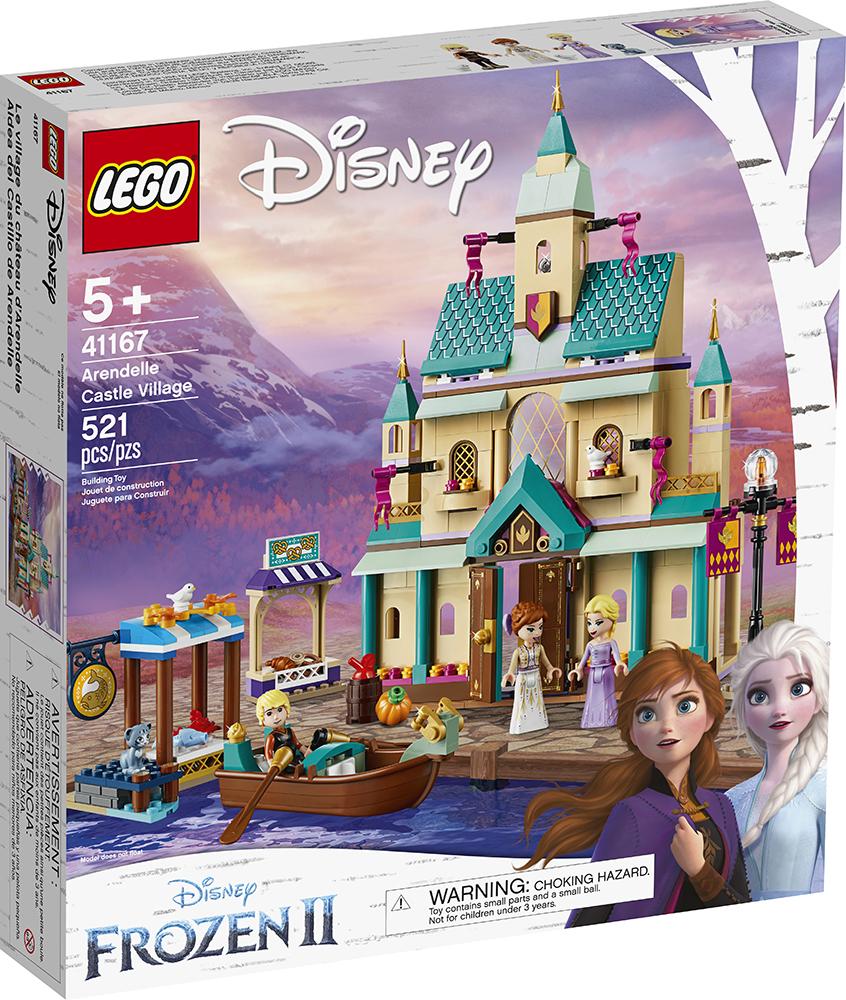 Reine des neiges - Village du château