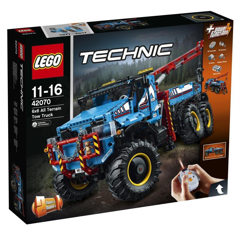 Technic - La Dépanneuse Tout-Terrain 6x6