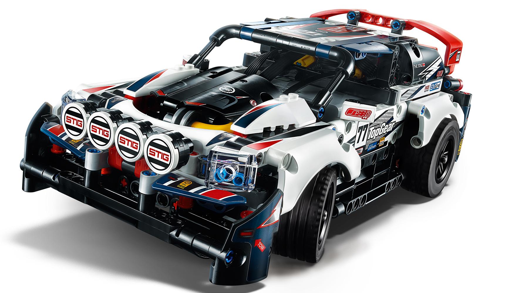 Technic - Voiture rallye Top Gear téléguidée