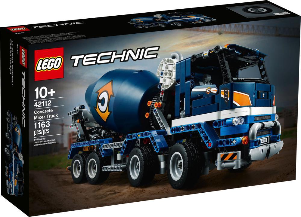 Technic - Le camion malaxeur