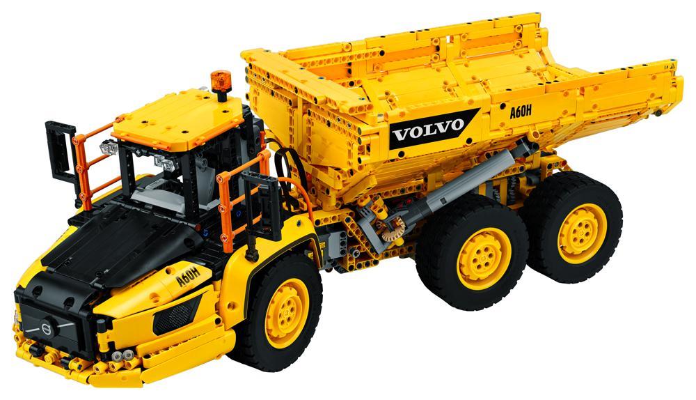 Technic - Le tombereau articulé Volvo 6x6