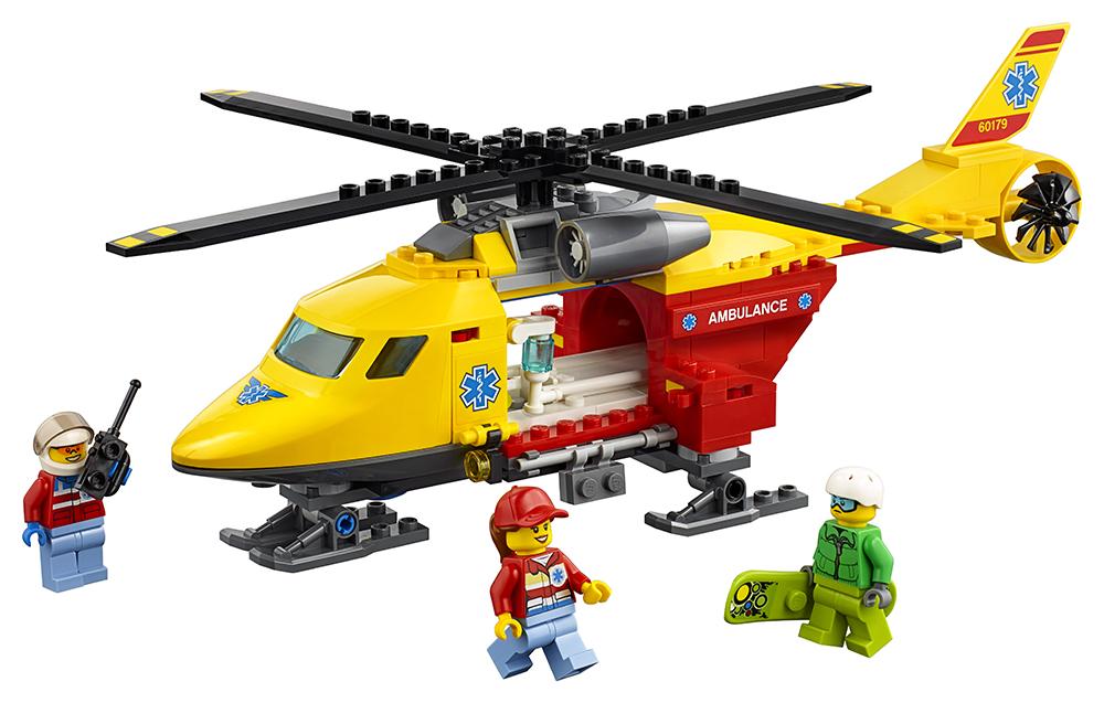 City - L'hélicoptère-ambulance
