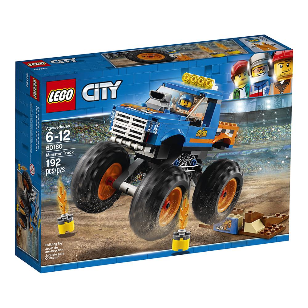 City - Camion monstre