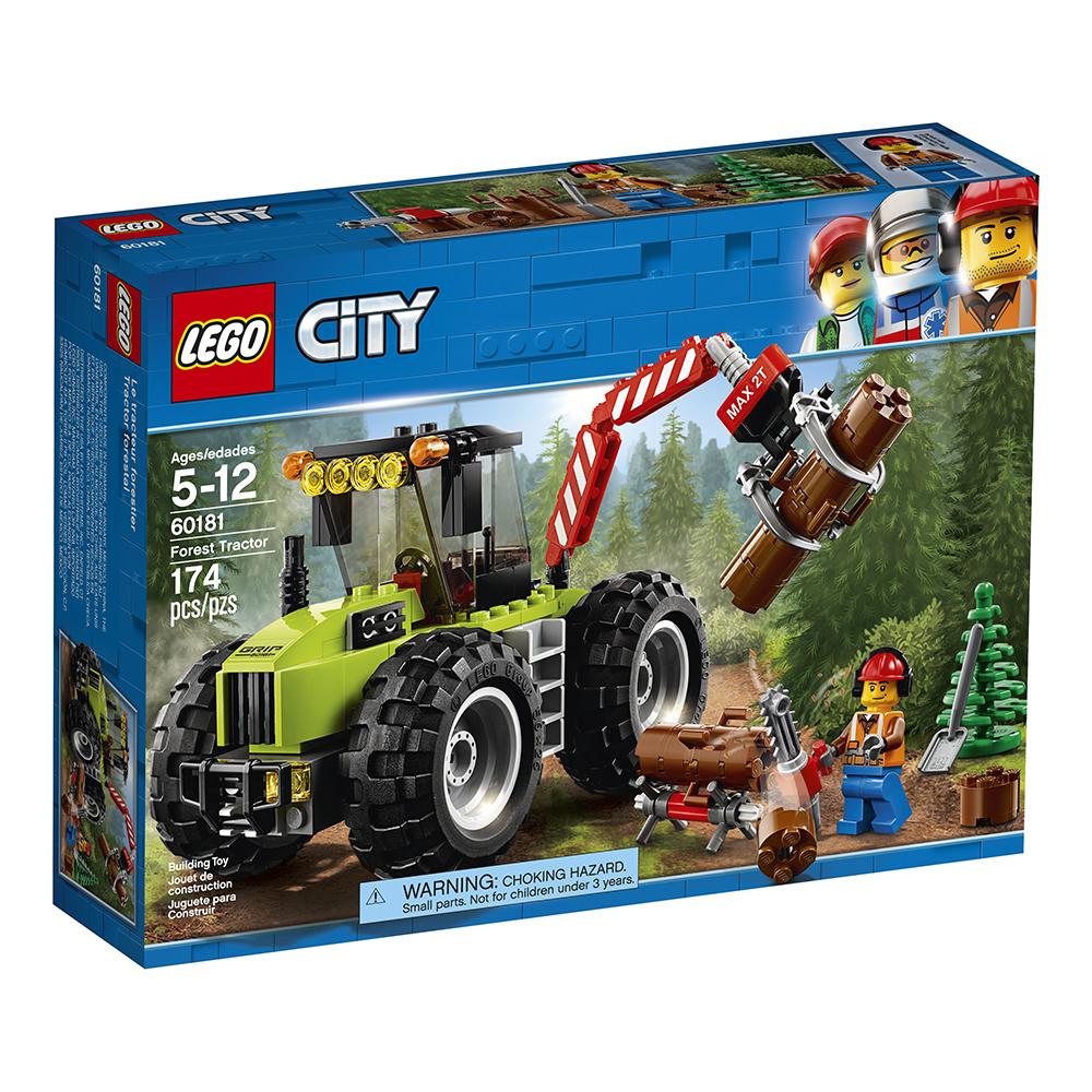 City - Tracteur Forestier