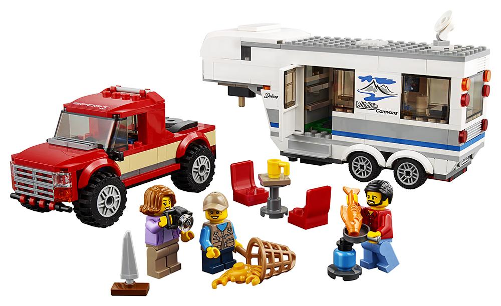 City - Camionnette et Caravane