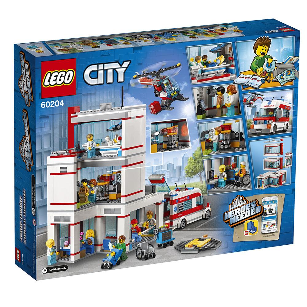 City - L'Hôpital de la ville LEGO