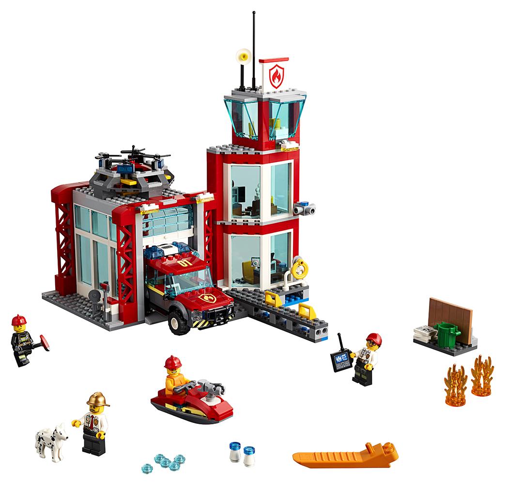 City - La Caserne de Pompiers