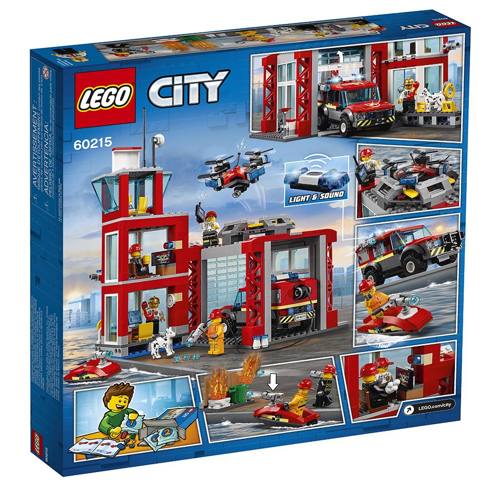 Pompiers La La Caserne De City De City Caserne QdCBhrtsx