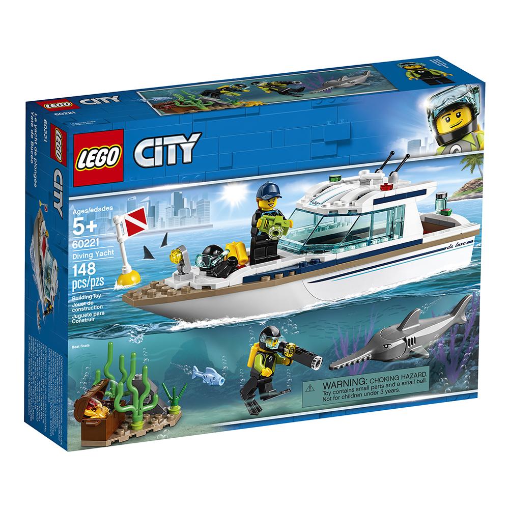 City - Le yacht de plongée