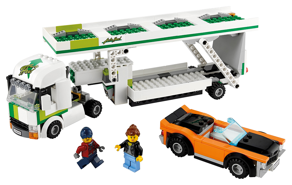 City - Le transport de voiture