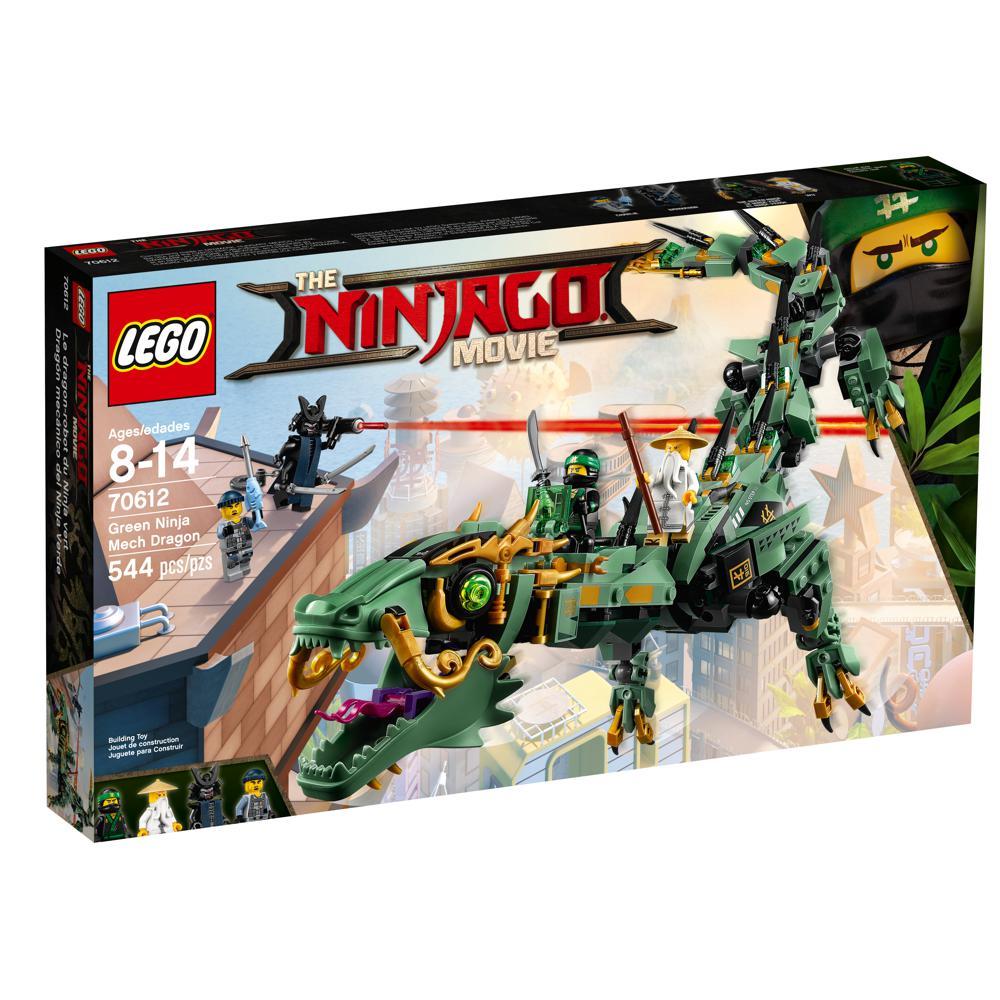 Ninjago - Le dragon-robot du Ninja vert