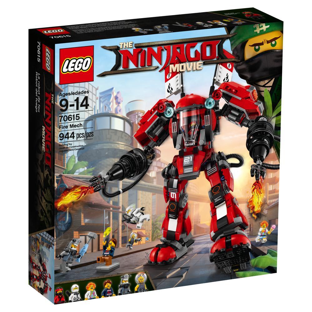 Le robot de feu