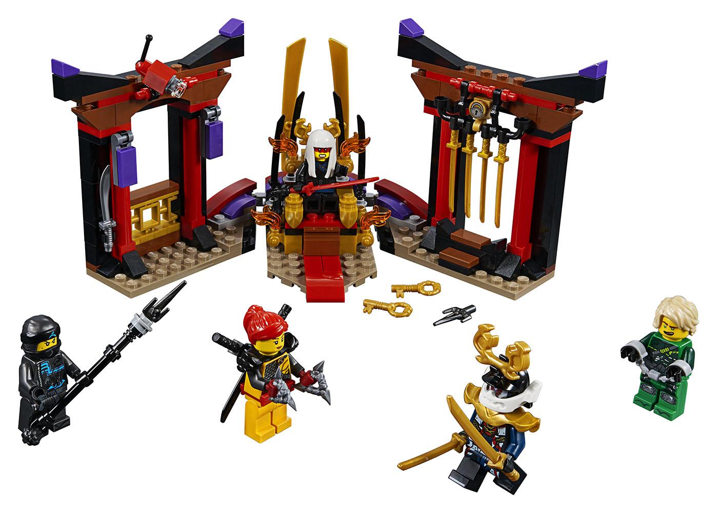 Ninjago - Confrontation dans la salle du trône