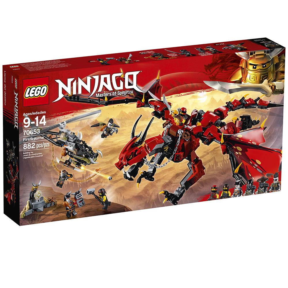 Ninjago - Le Dragon Firstbourne