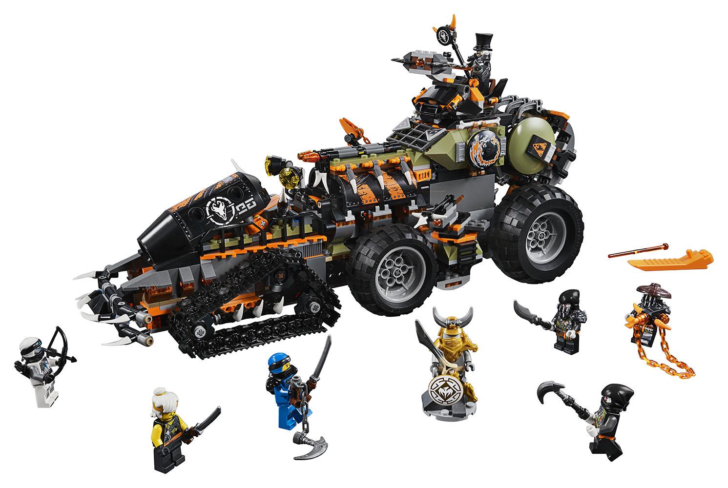 Ninjago - Dieselnaut