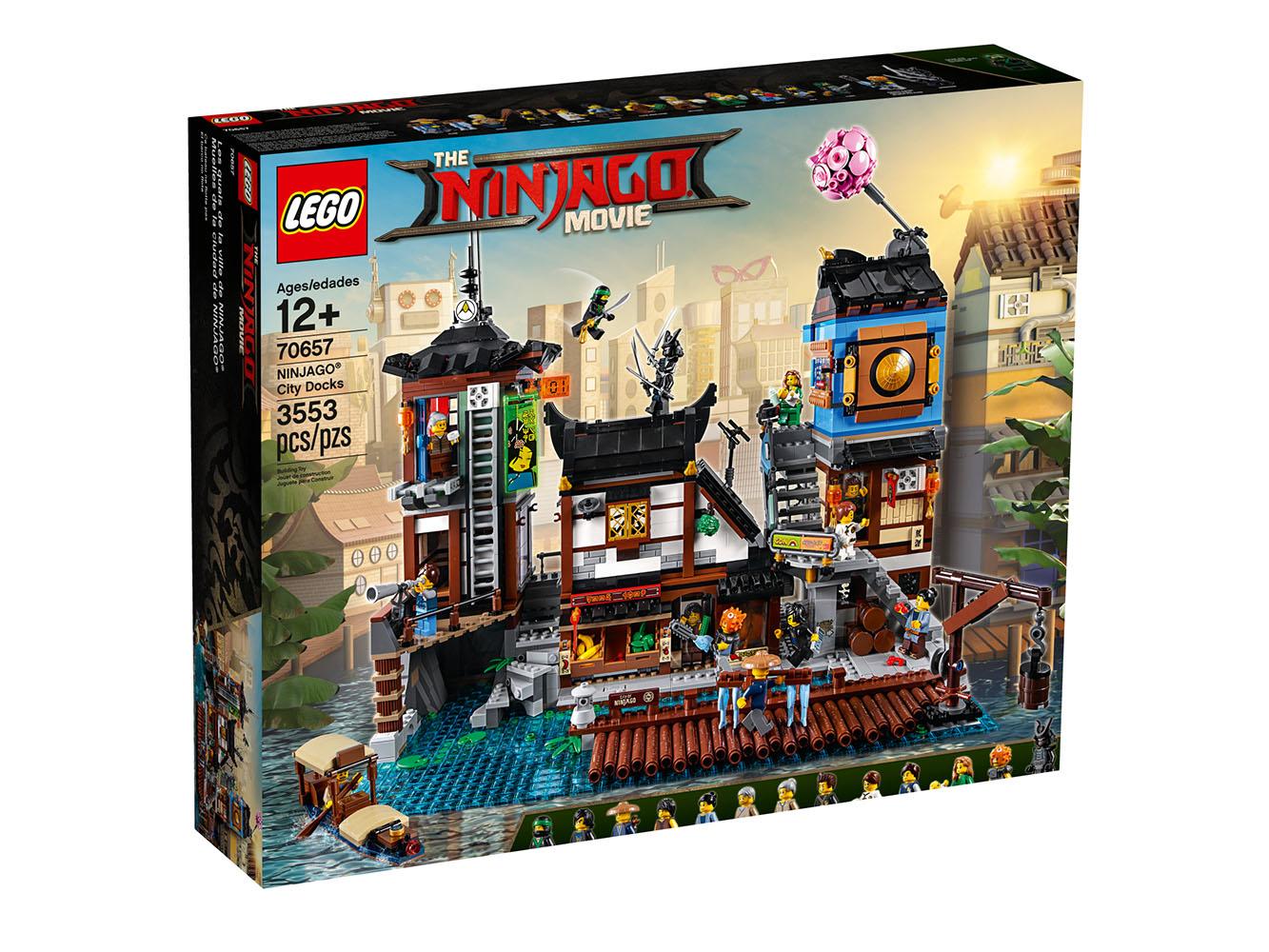Ninjago Les Quais de la Ville NINJAGO®