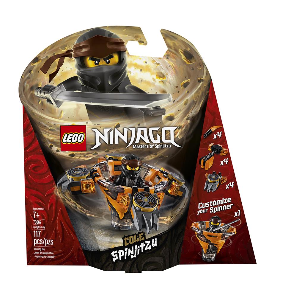 Ninjago Spinjitzu Cole