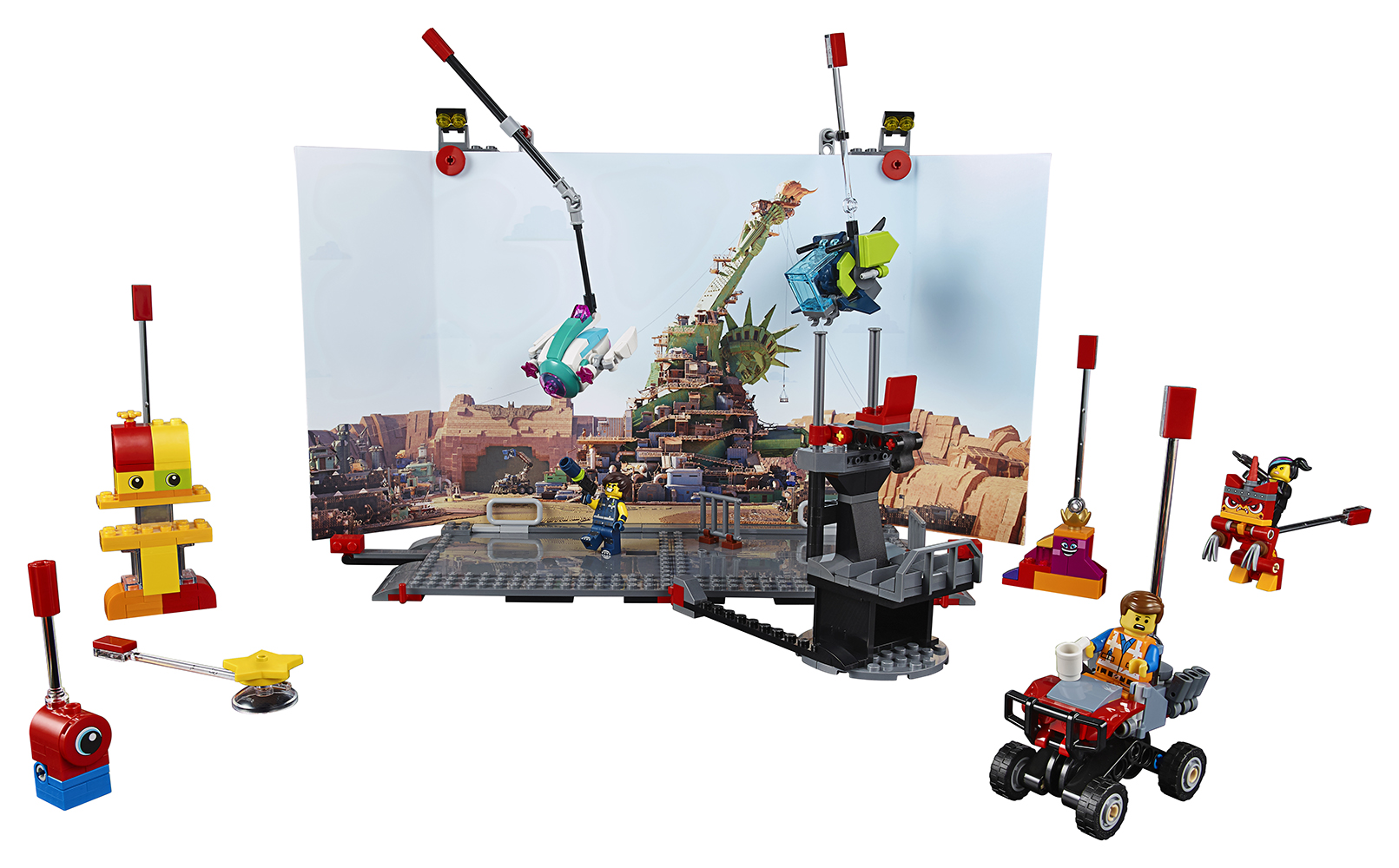 Lego movie 2 - Plateau de Tournage