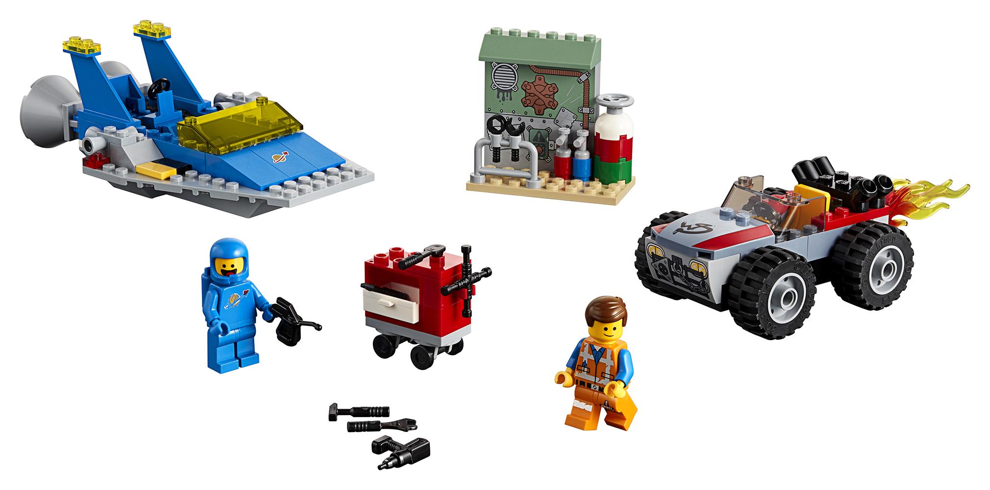 Lego Movie 2 - L'Atelier Construire&Réparer d'Emmet et Benny!