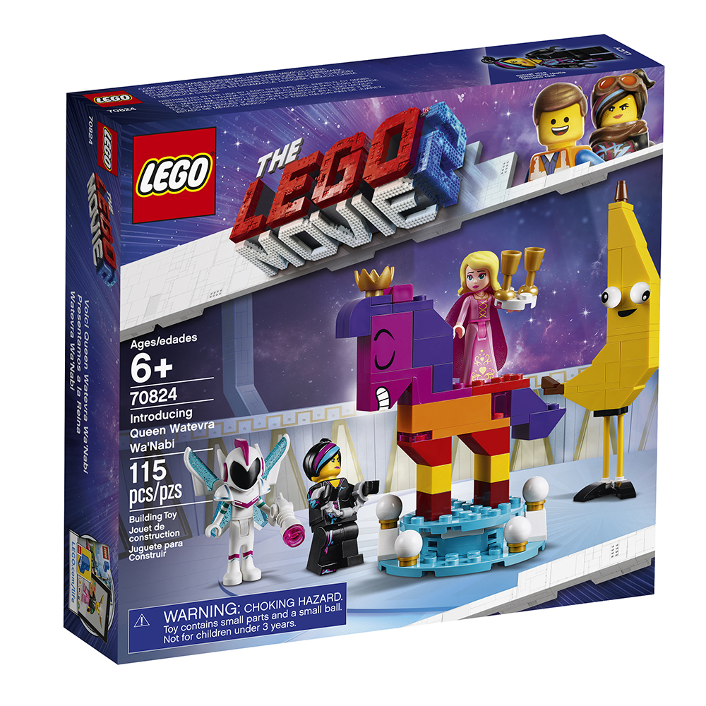 Lego Movie 2 - Voici la reine Jpeuzette Skejai'envie