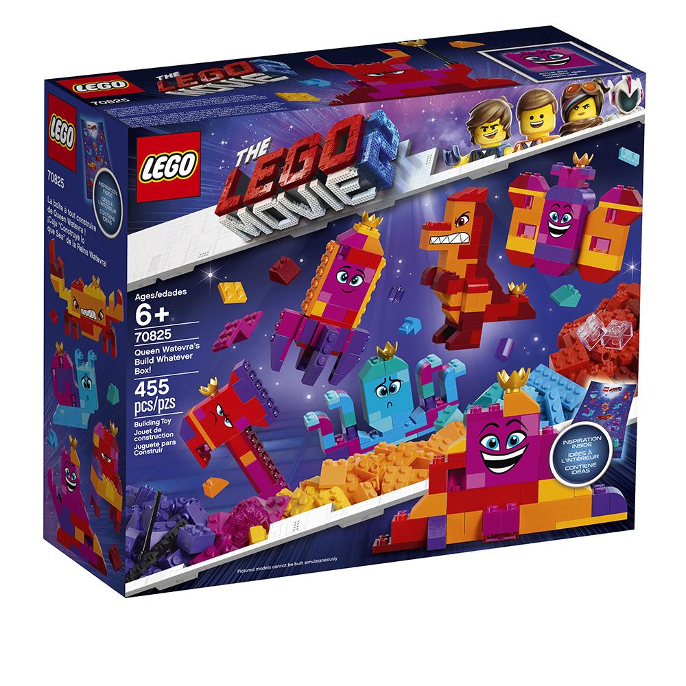 Lego Movie 2 - Boîte à tout construire de la reine Jpeuzette!