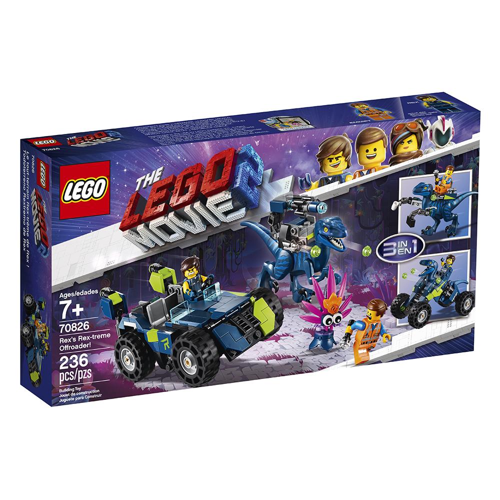 Lego Movie 2 - Le tout-terrain Rex-trême de Rex (0119)