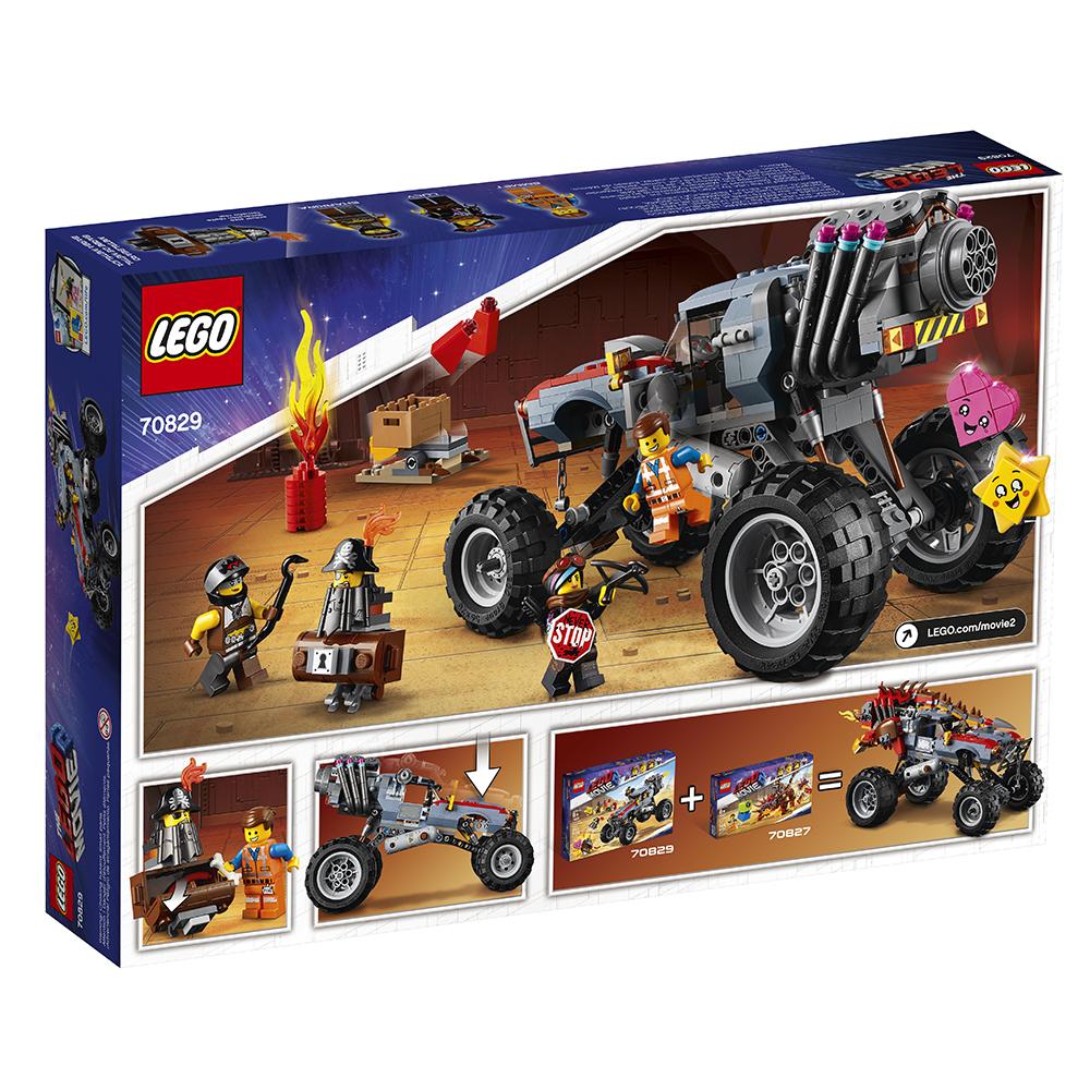 Lego Movie 2 - Buggy d'évasion d'Emmet et Lucy
