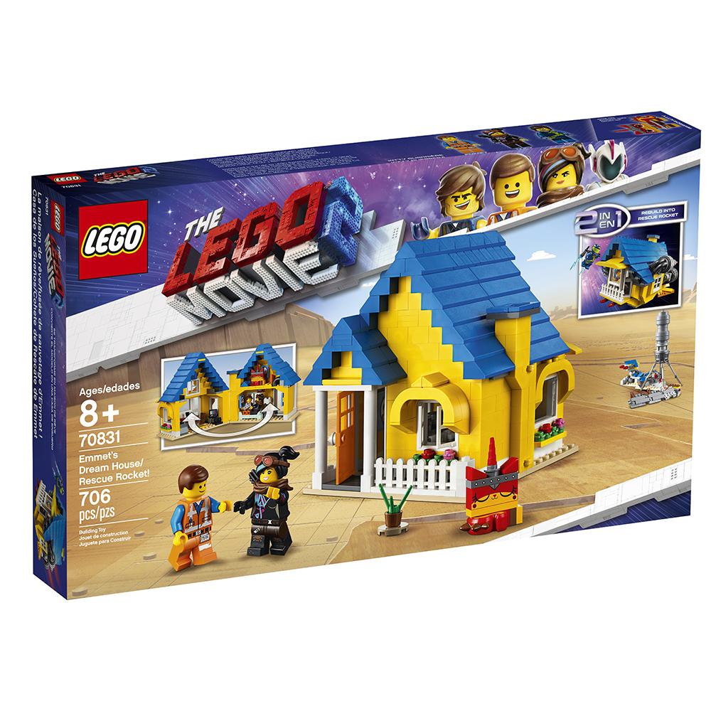 Lego Movie 2 - Maison de rêve d'Emmet!