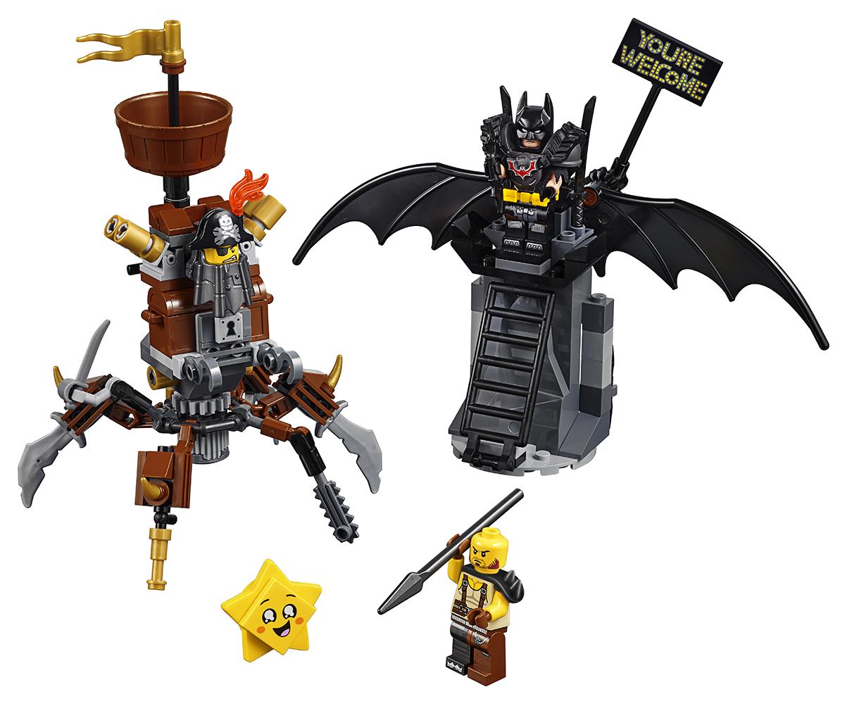 Lego Movie 2 - Batman™ et Barbe de Métal prêts pour le combat